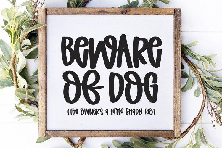Dog SVG - Funny Dog SVG - Digital Cut File