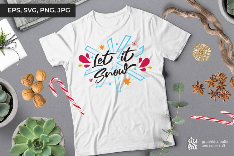 Let it snow | Christmas SVG