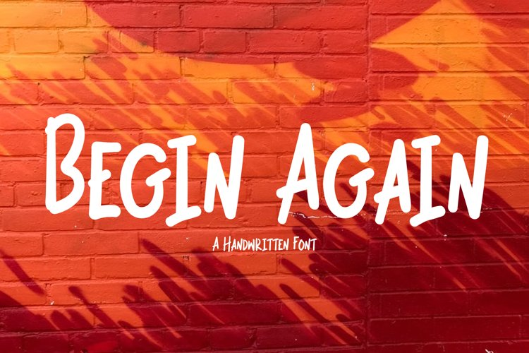 Begin Again example image 1