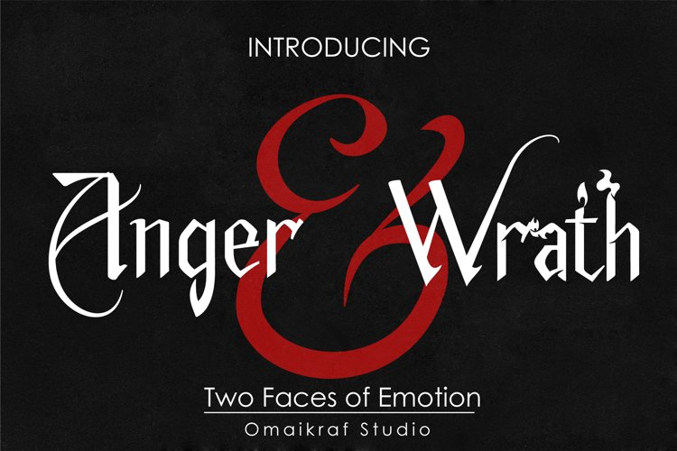 Anger and Wrath example image 1