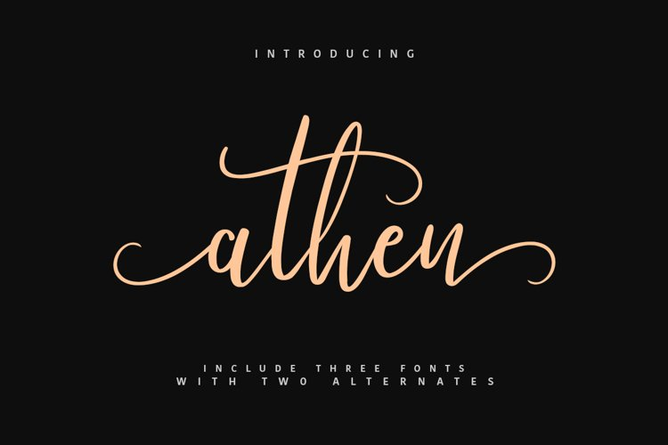 Athen Typeface example image 1