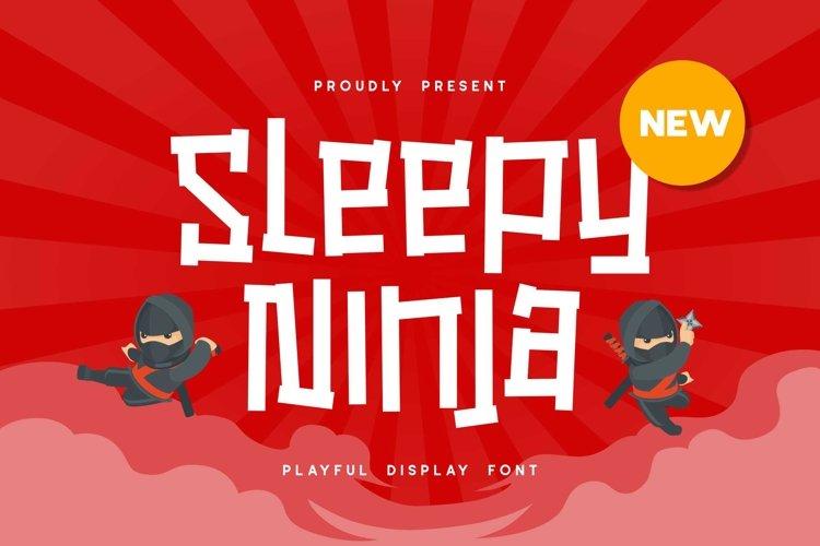 Sleepy Ninja example image 1