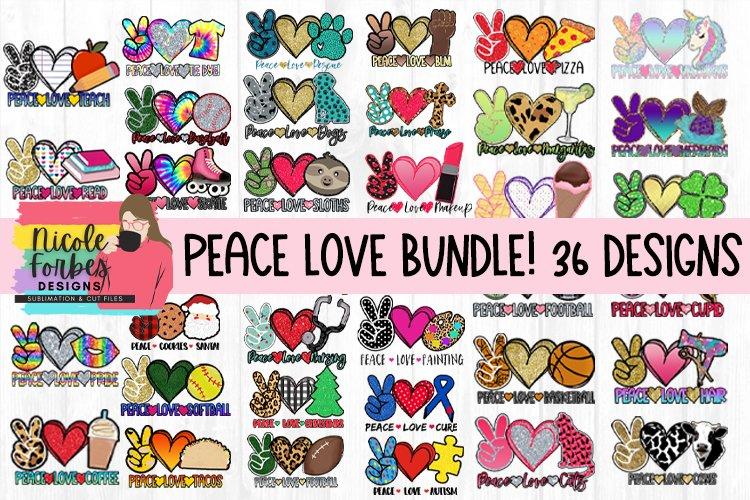 Peace Love Sublimation Bundle