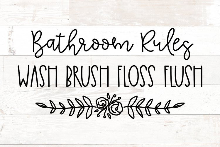 Bathroom Signs, Bathroom svg, Bathroom quotes example image 1
