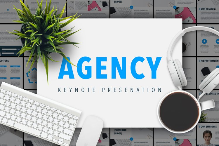 Agency Showcase Keynote Template example image 1