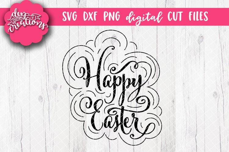 Happy Easter - Easter Design - SVG DXF PNG digital Cut files