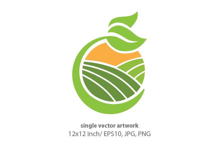 green valley - single vector artwork example image 1