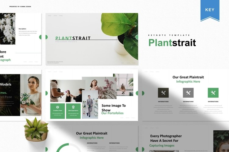 Plantstrait | Keynote Template example image 1