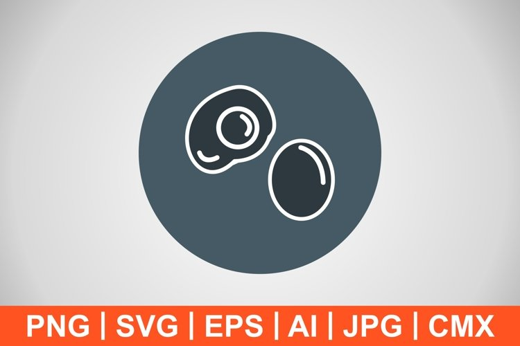 Vector Egg Icon example image 1