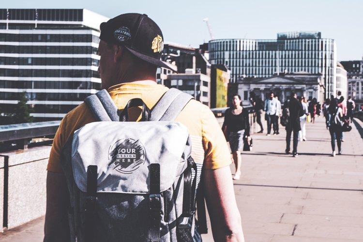 Backpack Mock-up #23