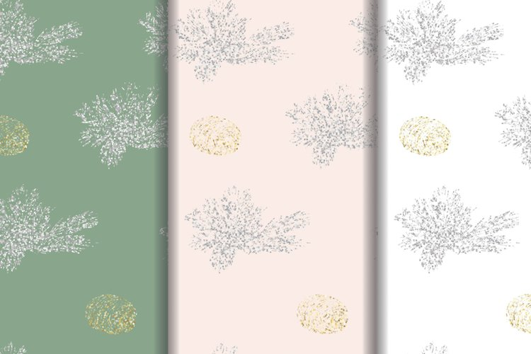 Christmas backgrounds pack. Glitter example image 1