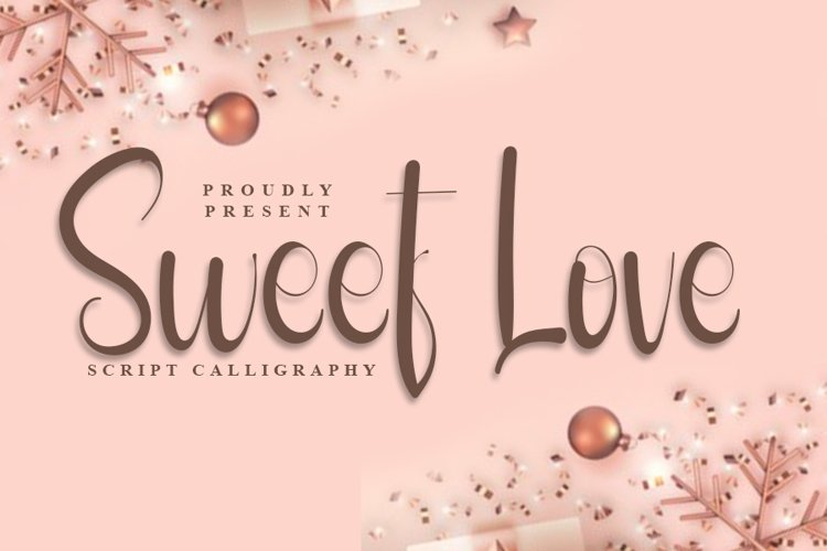 Sweet Love - Script Calligraphy Font example image 1