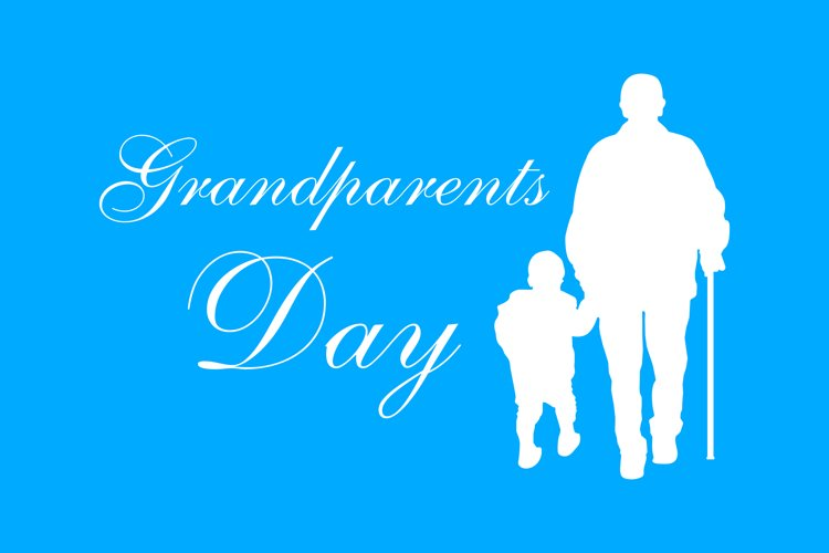 Grandparents Day vector illustration example image 1