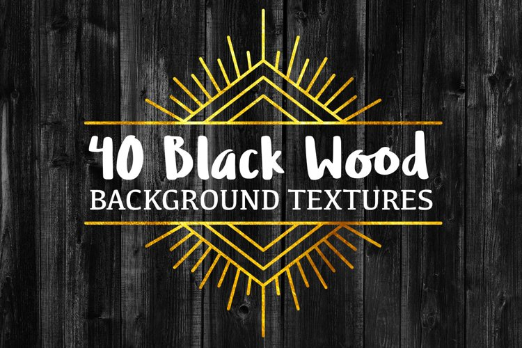 40 Black Wood Background Textures example image 1