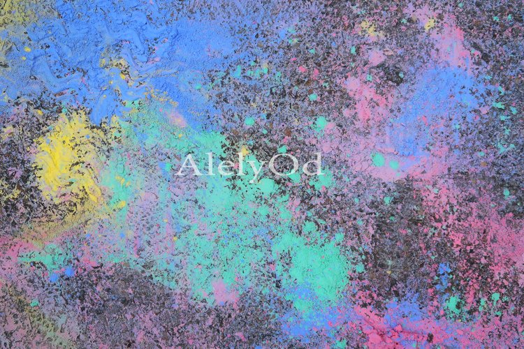 Fluid Art. Abstract colorful background, wallpaper.