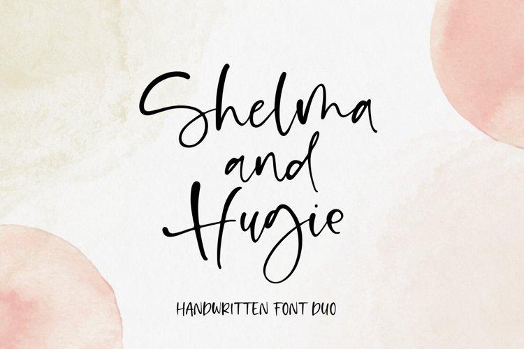 Shelma & Hugie - Font Duo example image 1