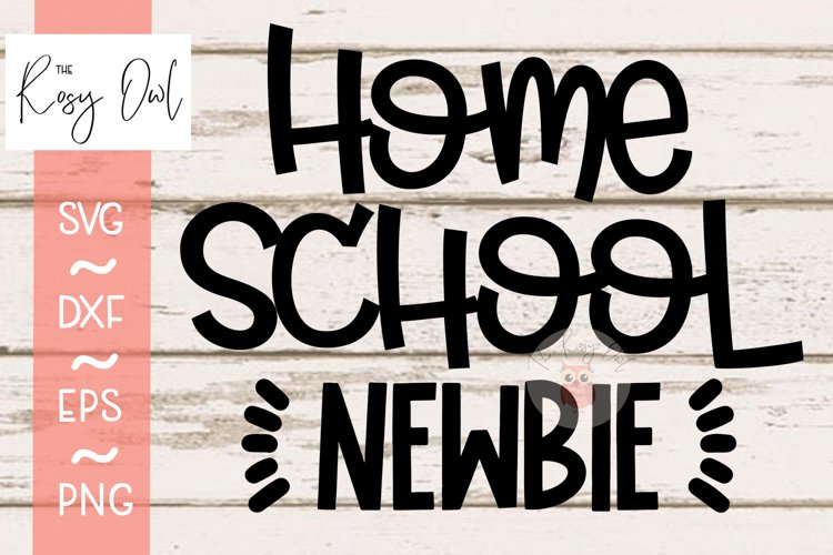 Home School Newbie SVG PNG DXF EPS example image 1