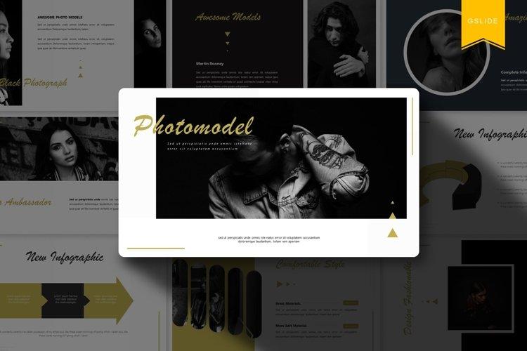 Photomodel | Powerpoint, Keynote, GoogleSlides Template example image 1