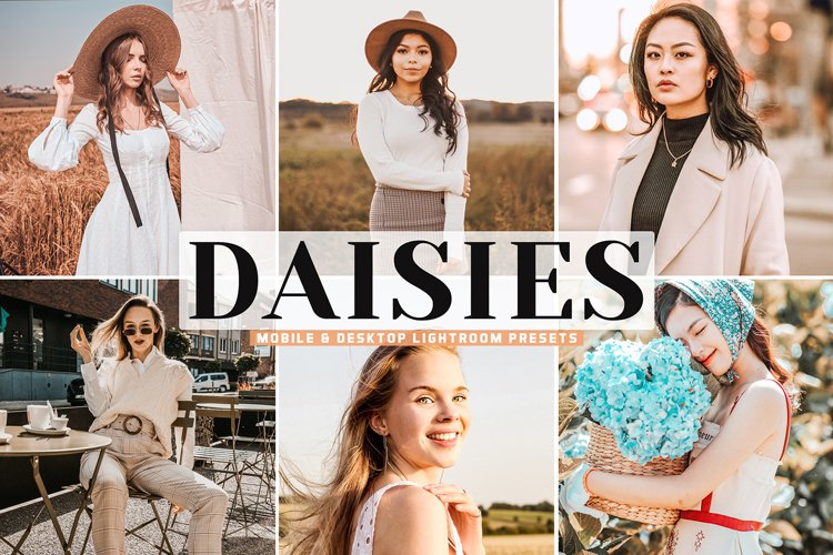 Daisies Mobile & Desktop Lightroom Presets example image 1