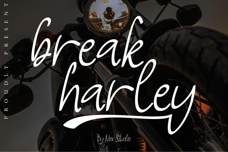 Break Harley example image 1