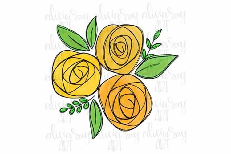 Gold Flower Bundle example image 1