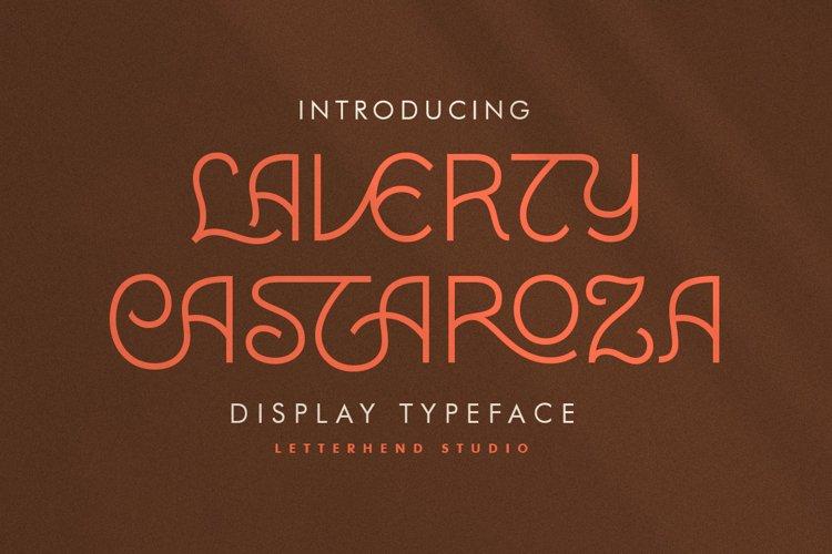 Laverty Castaroza - Display Typeface example image 1