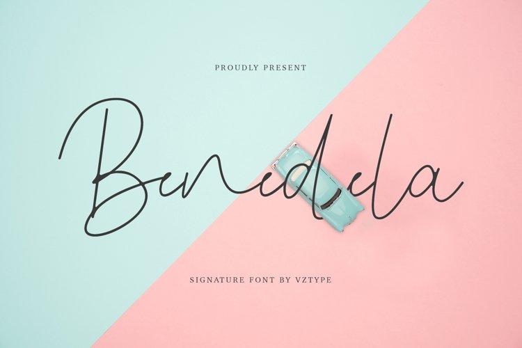 Benedela Signature example image 1
