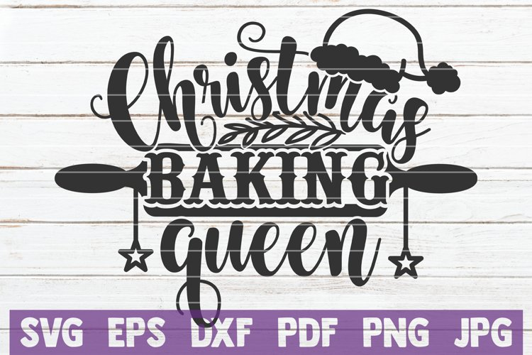 Christmas Baking Queen example image 1