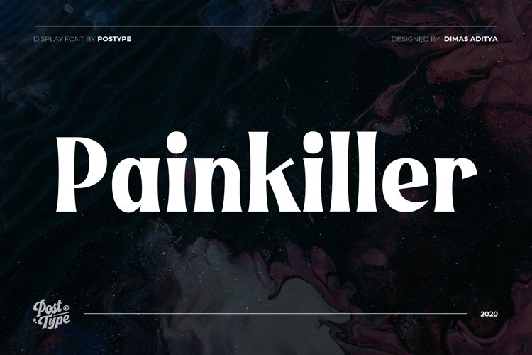 Painkiller - Display Font example image 1