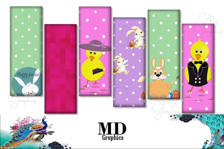 Easter Cards Images, Easter Digital Printable, Download example image 1