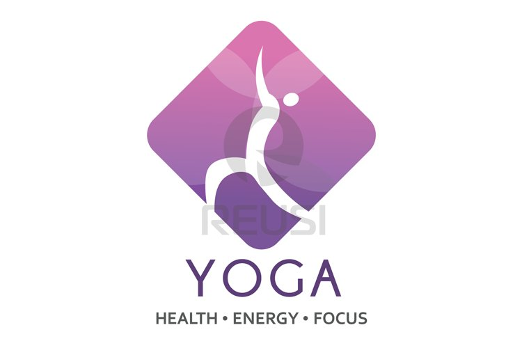 Yoga logo Template example image 1