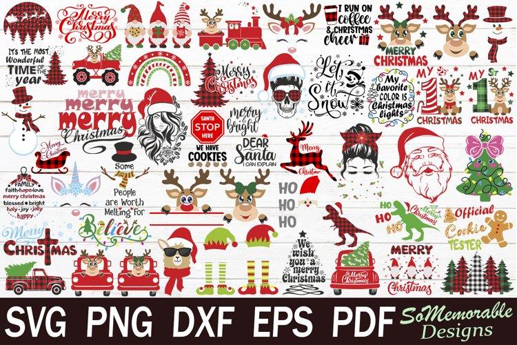 Christmas SVG bundle, Christmas SVG cut file