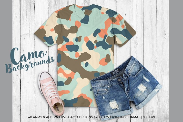 40 Alternative Camouflage Paper Designs