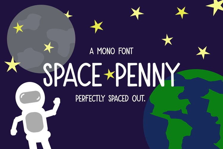 Space Penny Mono Font