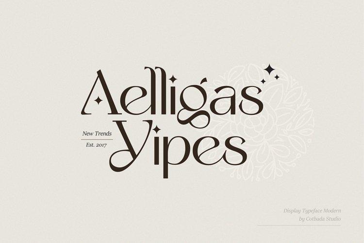 Yipes Display Typeface