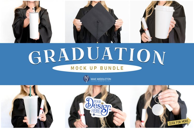 Graduation Mock up Bundle