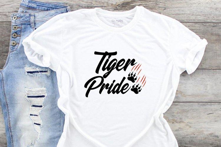 Tiger Pride SVG DXF PNG JPEG