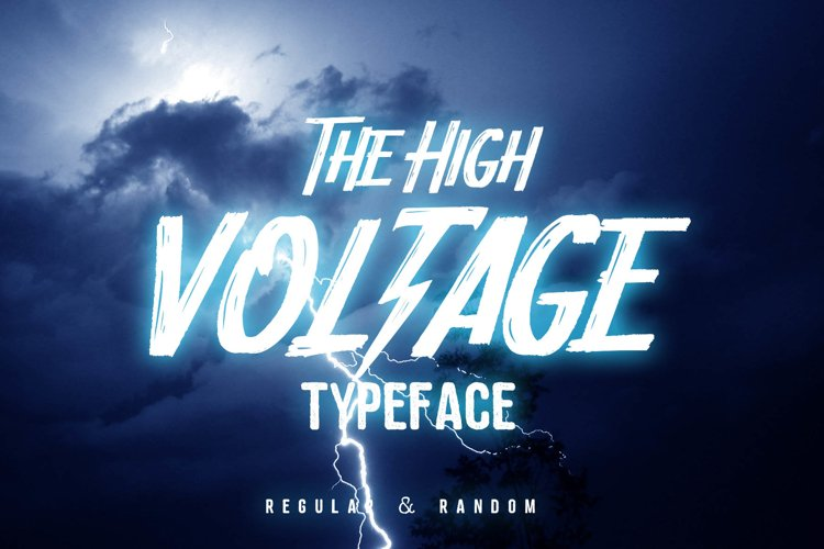 HIGH VOLTAGE Typeface example image 1