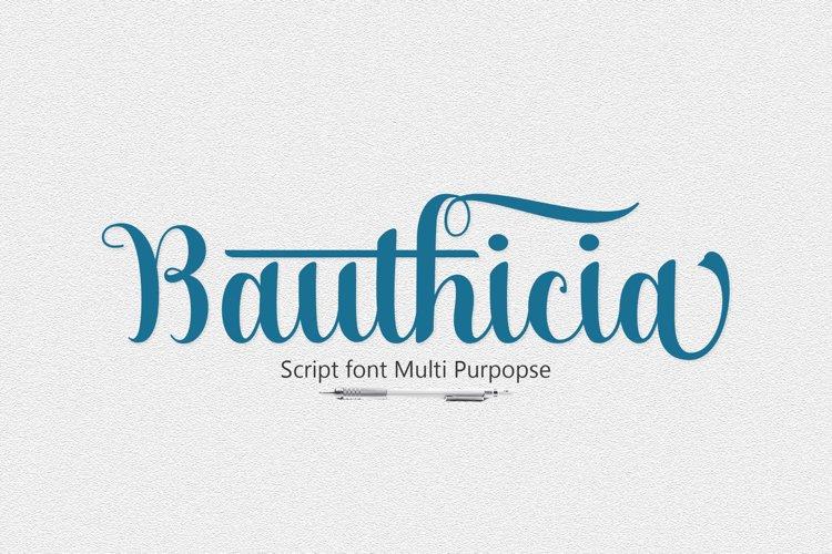 Bauthicia