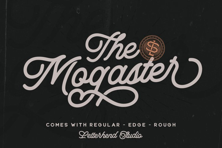 The Mogaster - Monoline Script example image 1