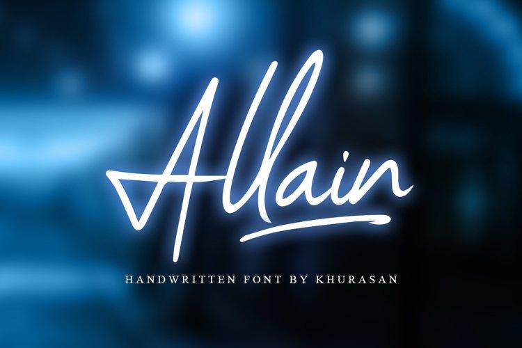 Allain Signature Script example image 1