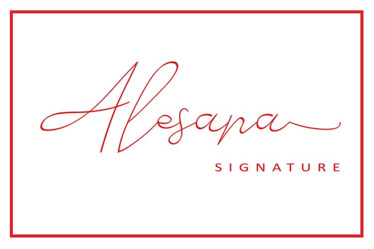 Alesana Signature example image 1