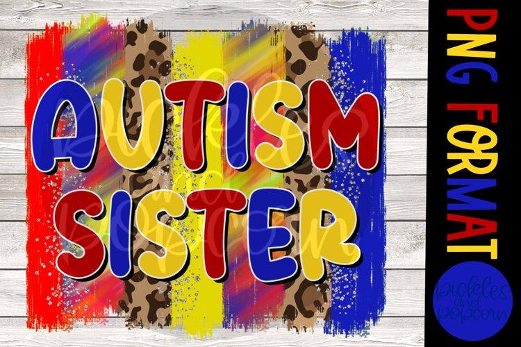 Autism Sister Brushstroke example image 1