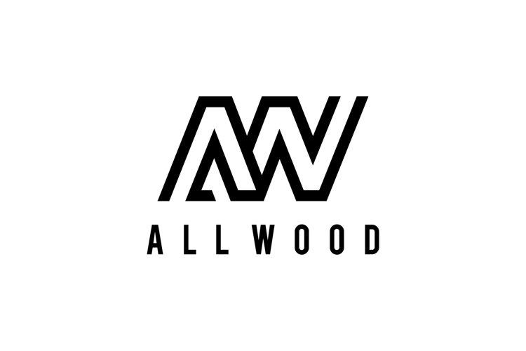 modern AW or WA logo example image 1