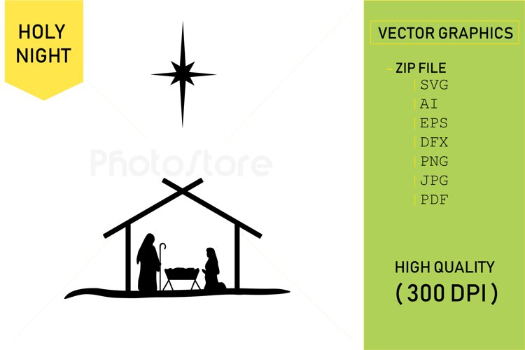Holy Night - Christmas example image 1