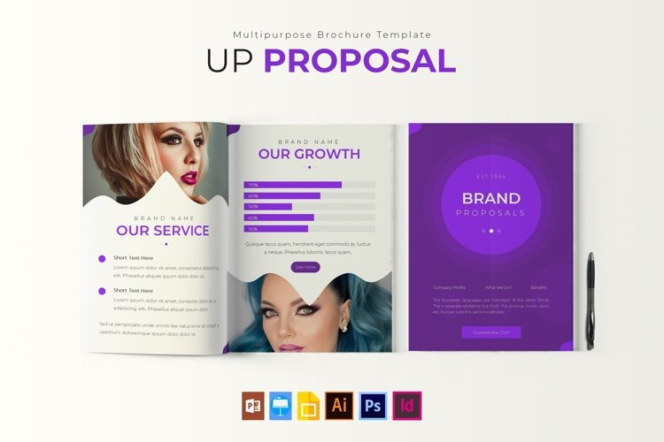 Up | Proposal Template example image 1