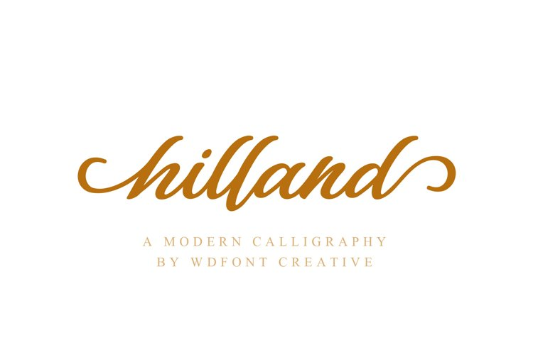 Hilland example image 1