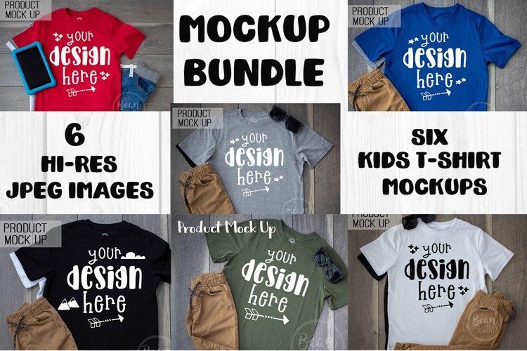 Kids Shirt Mockup Bundle