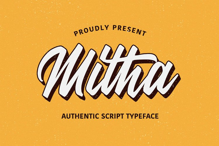 Mitha Script example image 1