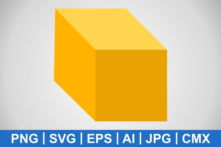 Vector Cube Icon example image 1